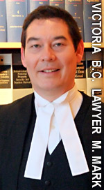 Michael Mark, BA LLB experienced wills / estates disputes - litigation lawyer in Victoria BC with McConnan Bion O'Connor Peterson Law. Corp.